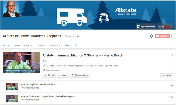 Maurice C Stephens - Maurice C. Stephens Allstate on YouTube