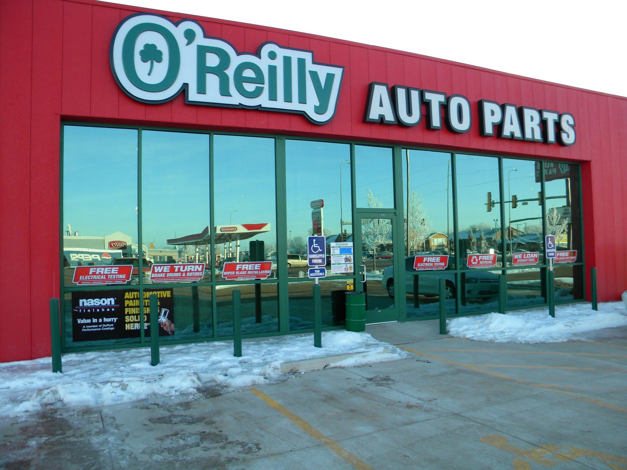 2050 dakota ave south huron sd o 39 reilly auto parts. Black Bedroom Furniture Sets. Home Design Ideas