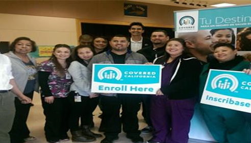 Health care enrollment event co-hosted with Foothill Community Health Center