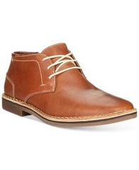Image of Kenneth Cole Reaction Desert Sun Leather Chukka Boots