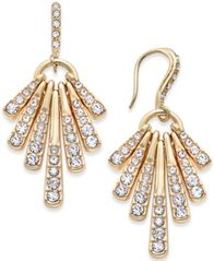 Image of I.N.C. Gold-Tone Pavé Shaky Drop Earrings, Created for Macy's