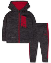 Image of Nike Baby Boys' 2-Pc. Zip-Up Hoodie & Pants Set