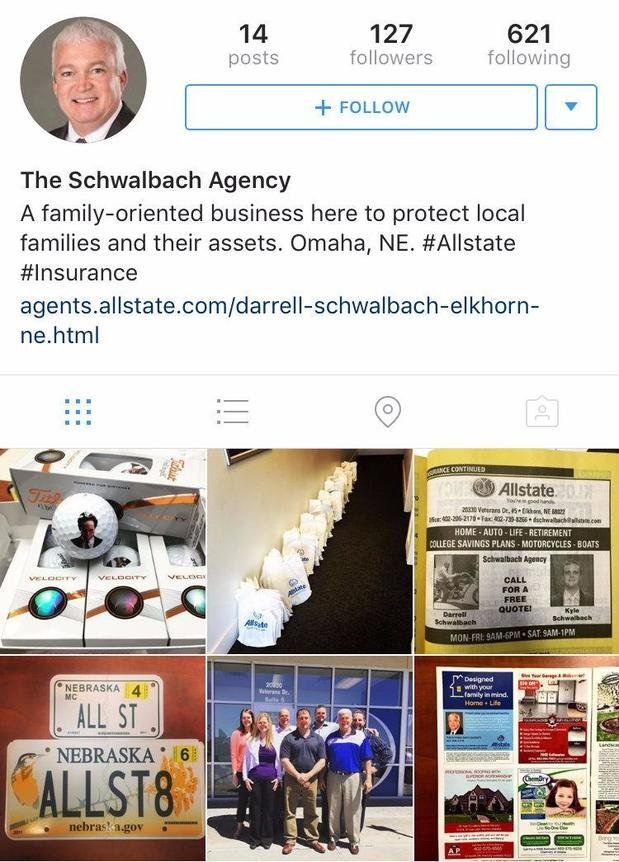 Darrell Schwalbach - Follow us on Instagram