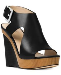 Image of MICHAEL Michael Kors Josephine Wedge Sandals
