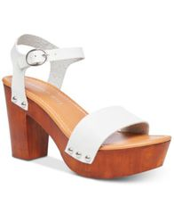Image of Madden Girl Lift Platform Sandals