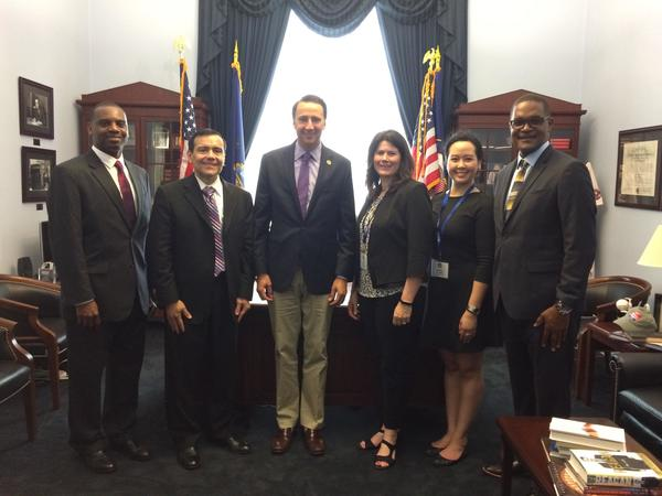 Albert Vargas - This year, more than 30 agency owners and employees attended Allstate's fourth Congressional Fly-In at Capitol Hill in Washington, D.C.