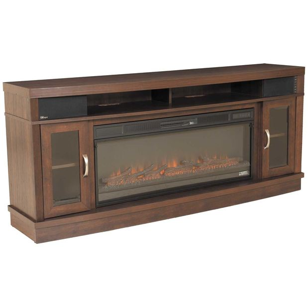 Superb Deerfield Media Fireplace