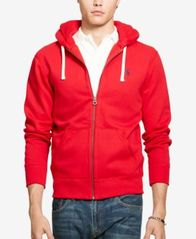 Image of Polo Ralph Lauren Men's Hoodie, Core Full Zip Hooded Fleece