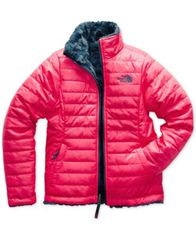 Image of The North Face Reversible Mossbud Swirl Jacket, Little Girls & Big Girls