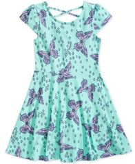 Image of Epic Threads Little Girls Printed Skater Super-Soft Dress, Created for Macy's