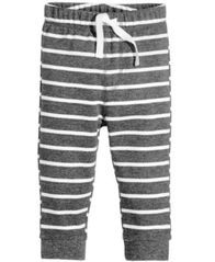 Image of First Impressions Striped Jogger Pants, Baby Boys (0-24 months), Created for Macy's