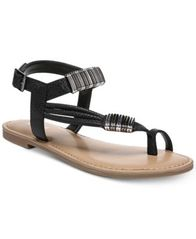 Image of Bar III Vera Flat Sandals, Created for Macy's