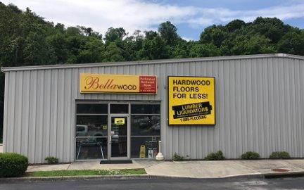 LL Flooring #1110 Roanoke | 356 Apperson Drive | Storefront