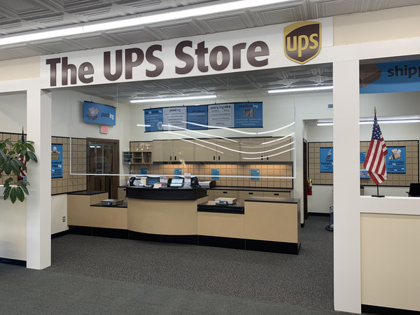 Facade of The UPS Store Kinston