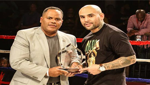 "Farmers® Charles L. Perkins awards Luis Collazo ""Boxing Rising Star!"""