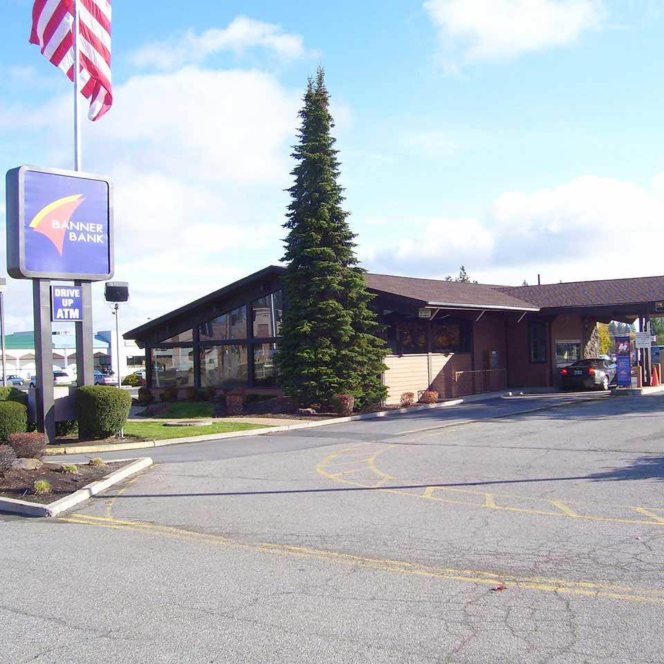 Banner Bank branch in Cheney, Washington