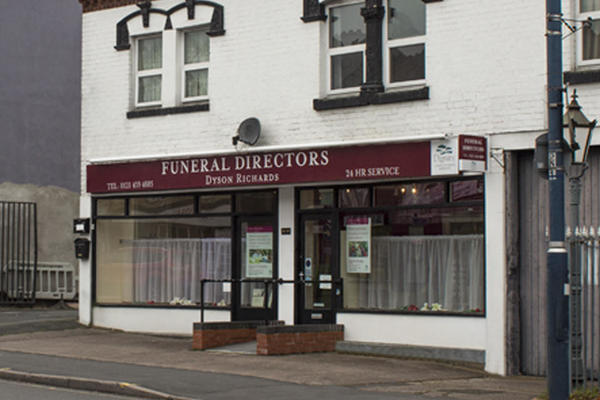 Dyson Richards Funeral Directors in Stirchley, Birmingham