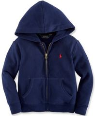 Image of Ralph Lauren Boys' Full Zip Hoodie, Big Boys