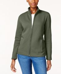 Image of Karen Scott Quilted Active Jacket, Created for Macy's