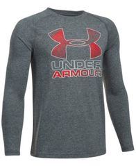 Image of Under Armour UA Tech Graphic-Print Shirt, Big Boys (8-20)