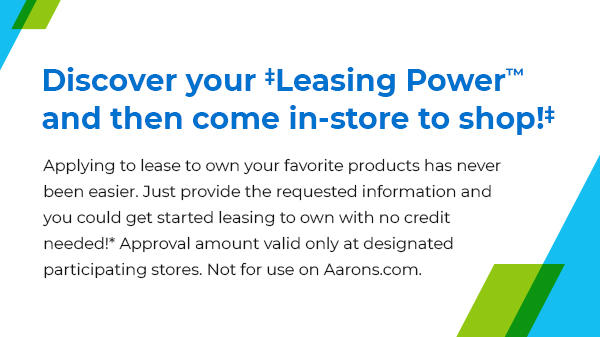 Discover your leasing power