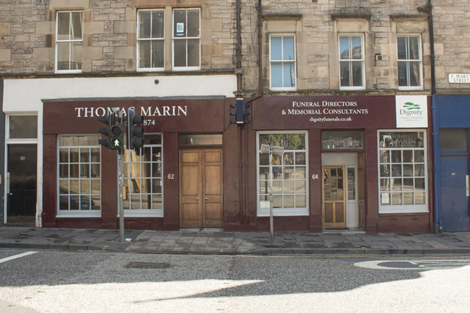 Thomas Marin Funeral Directors in Edinburgh