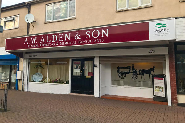 A W Alden & Son Funeral Directors in Canvey Island