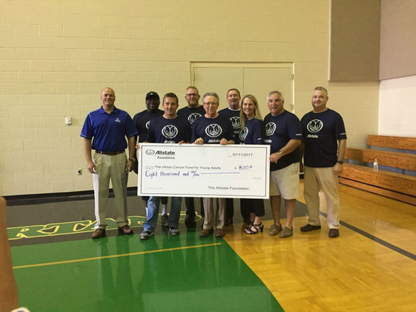Mark Thielen - Allstate Foundation Grant for Ulman Cancer Fund for Young Adults