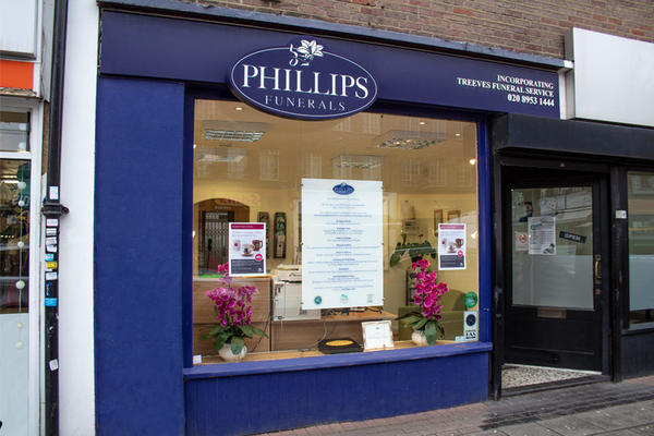 Phillips Funeral Directors in Borehamwood