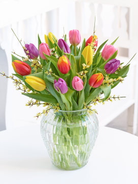 Image of Tulip Delight Vase