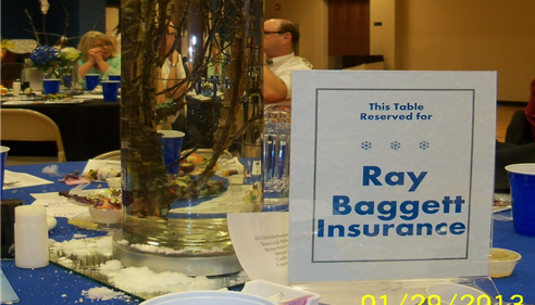 Ray Baggett Farmers Insurance Table