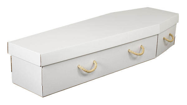Cardboard Coffin from Our Natural Collection
