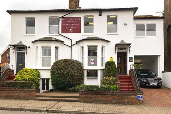 Phillips Funeral Directors in 68 Alma Road, St Albans