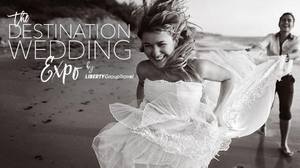 Join us on Saturday, February 23rd 2019 for the Liberty Group Travel Destination Wedding Expo