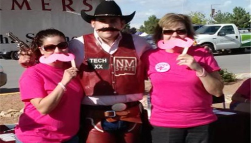 2012 Tough Enough to Were Pink NMSU Game