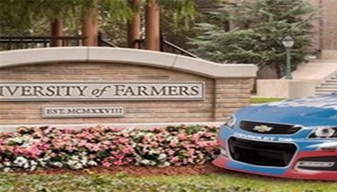 The University of Farmers® (Yes, it actually exsists) and Farmers® Racing.