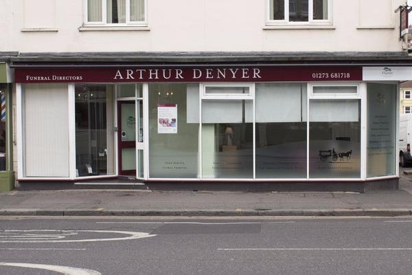 Arthur Denyer Funeral Directors on Lewes Road, Brighton