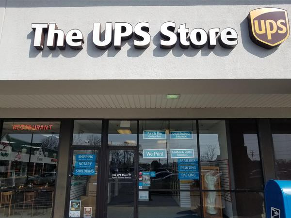 Facade of The UPS Store Cherry Hill