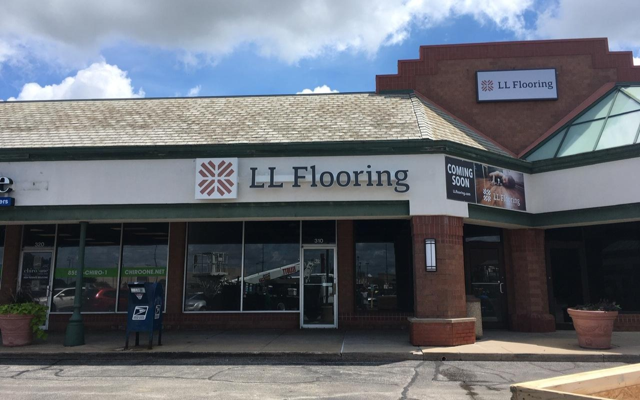LL Flooring #1426 Bloomington | 1701 East Empire Street | Storefront
