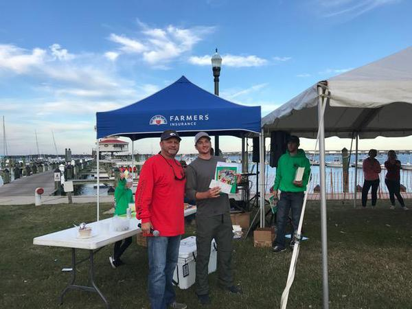 2017 Rock the Choptank fishing tournament director and sponsor