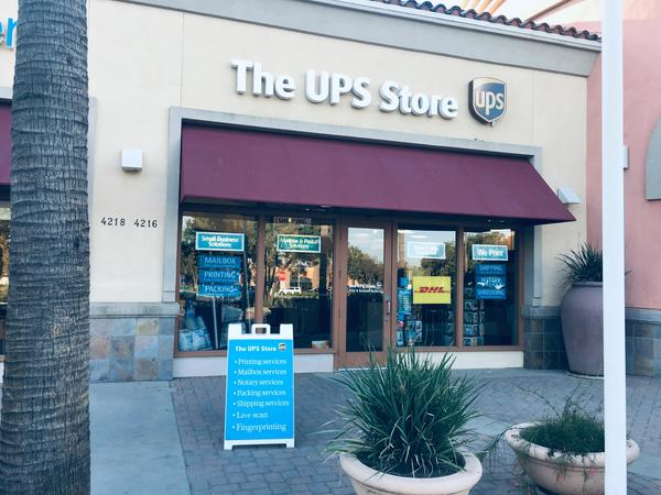 exterior storefront for The UPS Store 2056 in Visalia, CA