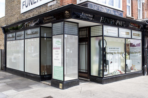 Henry Paul Funeral Directors in Ealing, London.