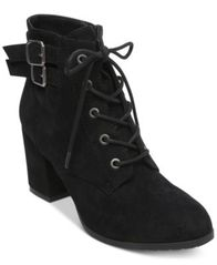 Image of Madden Girl Theoo Lace-Up Booties