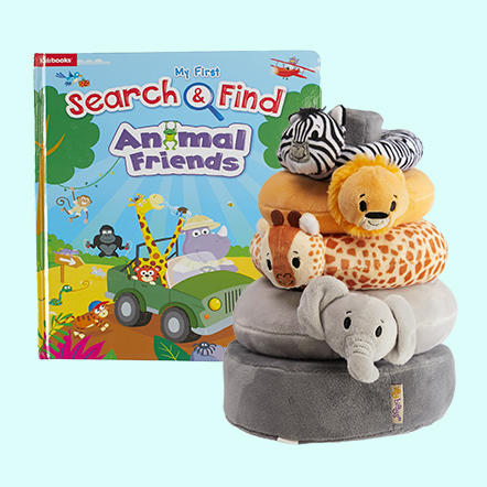 Our finds are as helpful as they are cute! Make growing and learning fun with our ever-changing assortment of baby toys and children's books.
