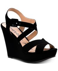 Image of American Rag Rachey Dress Platform Wedge Sandals, Created for Macy's