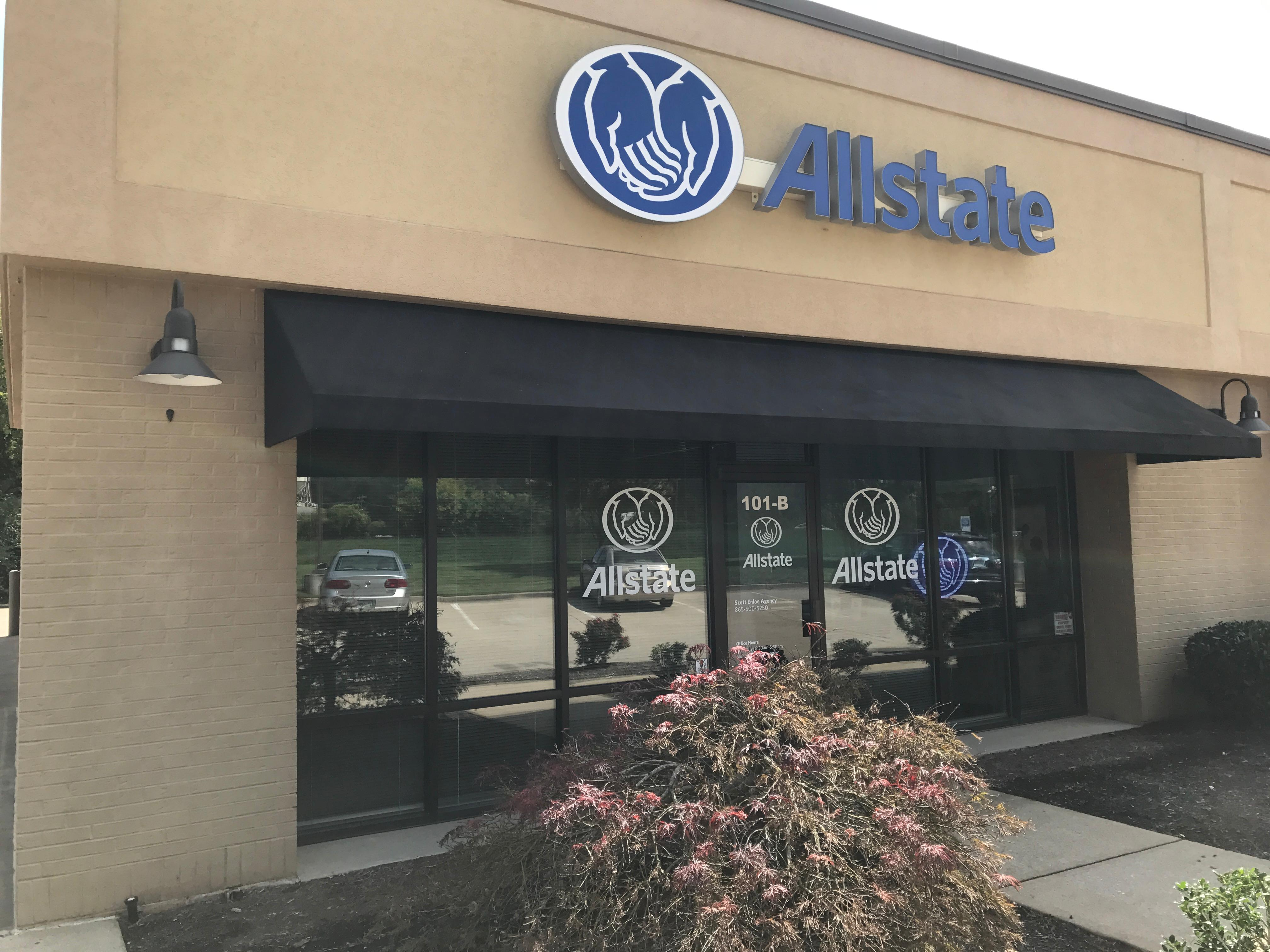 Allstate car insurance in knoxville tn scott enloe for Allstate motor club hotel discounts