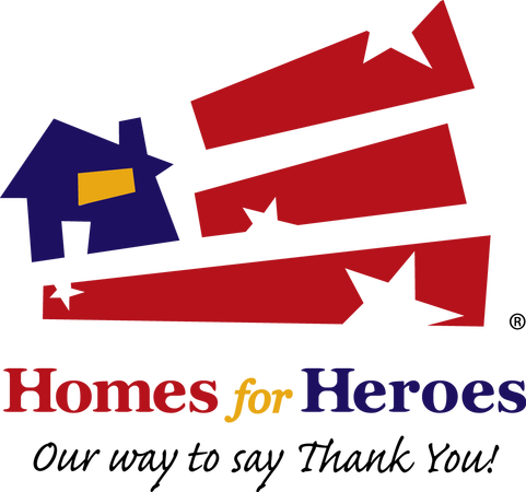 Logo for Homes for Heroes Affiliate in the Denver Metro area.