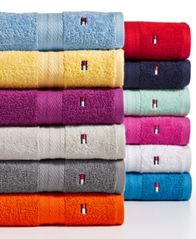 Image of Tommy Hilfiger All American II Cotton Washcloth, Created for Macy's, Sold Individually