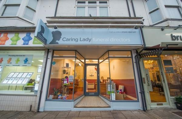 Caring Lady Funeral Director Shoreham by Sea