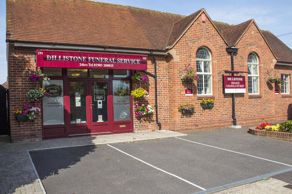 Dillistone Funeral Directors in Worthing, West Sussex.